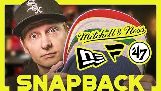 Der große SNAPBACK Cap Vergleich - New Era vs M&N vs 47' vs Fanatics
