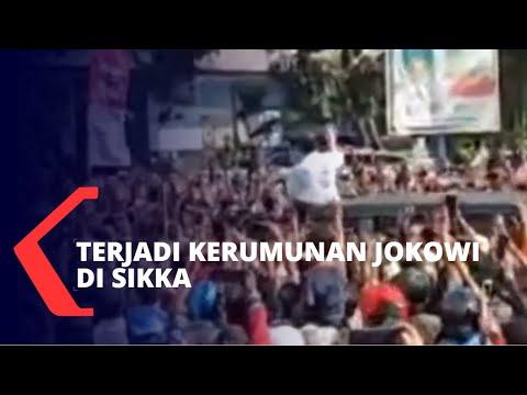 Tracing Corona Acak ke Warga Saat Kerumunan Jokowi di Sikka