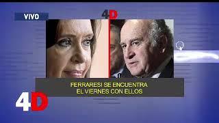 4D | CUATRO DÍAS - LUIS MAJUL - NUEVOS AUDIOS DE CRISTINA