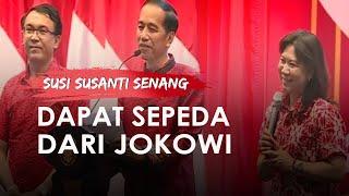 Susi Susanti Senang Dapat Sepeda dari Jokowi, Ceritakan Pengalaman Raih Emas Olimpiade