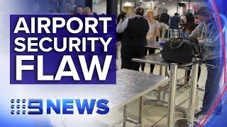 The airport security screening failure at regional hub | Nine News Australia