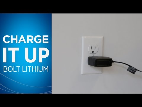 BOLT Lithium - How to Charge