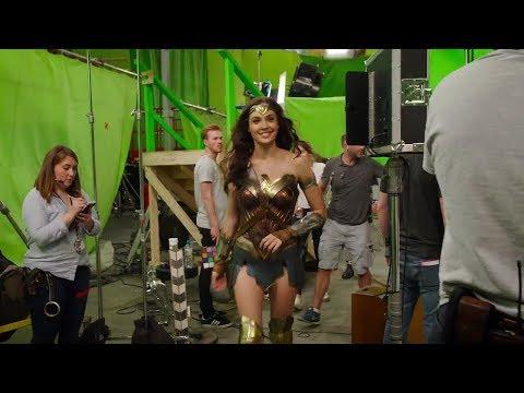 Wonder Woman Behind the Scenes(BTS) & Bloopers - Gal Gadot - 2017