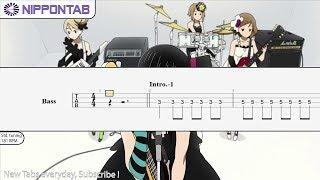【bass Tab】〚桜高軽音部〛don't Say