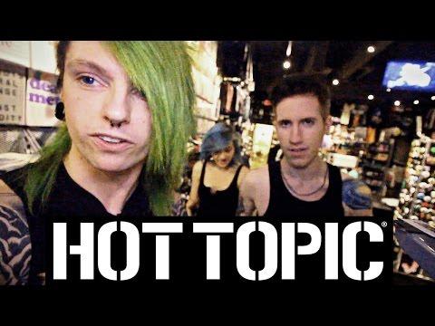 Emo / Goth Raid Hot Topic