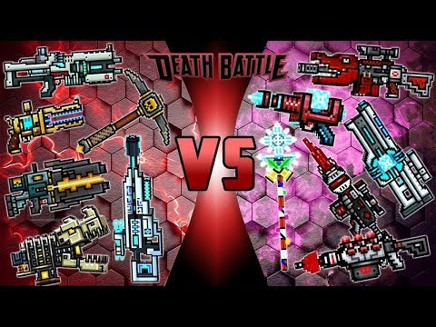Pixel Gun 3D - Legendary Weapons VS Mythical Weapons
