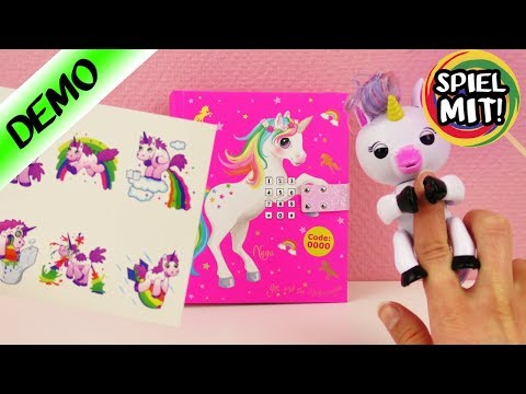 3 neue Highlights für EINHORN Fans   Unicorn Lover Tattoos, Tagebuch & elektronisches Spielzeug