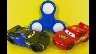 Мультики про Машинки Тачки 3 Молния Маквин Джексон Шторм Спиннер Гипноз Cars 3 Lightning McQueen