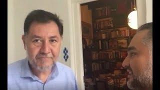 ENTREVISTA EXCLUSIVA CON GERARDO FERNANDEZ NOROÑA ¡QUIERO VER A LOS MEXICANOS EN PIE DE LUCHA!