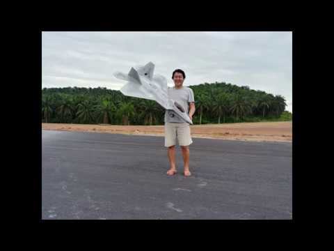 freewing-rc-f22-raptor-edf-converted-to-turbine-with-kingtech-k30