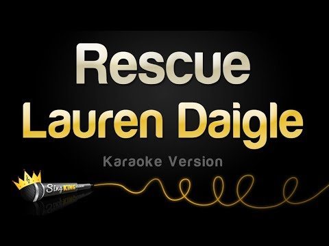 Lauren Daigle - Rescue (Karaoke Version)