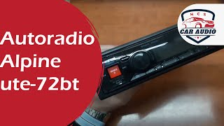 Autoradio Alpine ute-72bt 1 din senza meccanica