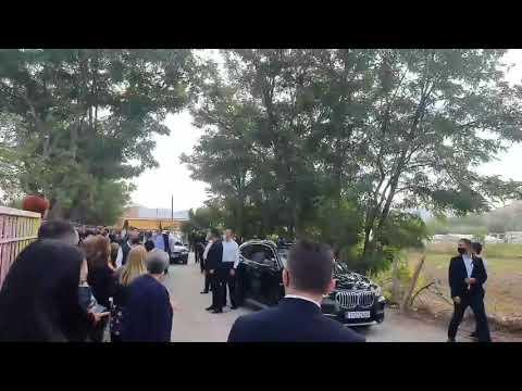 Ο Πρωθυπουργός Κυριάκος Μητσοτάκης στα εγκαίνια του νέου Δημοτικού σχολείου στο Δαμάσι