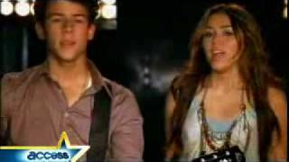 Behind The Scenes of ''Send It On''- jonas brothers,miley cyrus,demi lovato and selena gomez