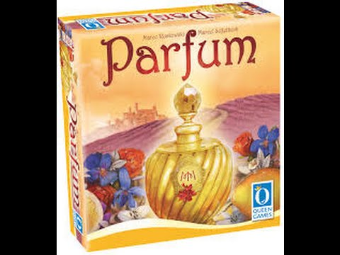 Parfum: Unboxing/Rulebook Overview: Roll & Move Review