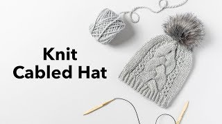Cable Knitting for Beginners | Cable Knit Hat Tutorial + Tips