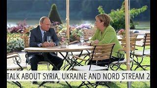 Putin And Merkel Tackle Tough Global Topics