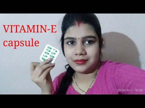 How to use vitamin E capsules for better hair growth ???