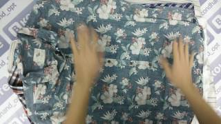 Shirts Men Summer-мужзкие рубашки кор.рук.крем англ.12кг.12.70€/кг 63шт.