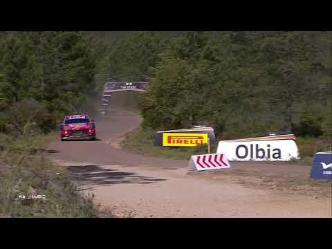 WRC 2021 第5戦ラリー・イタリア 金曜日ハイライト動画1/2