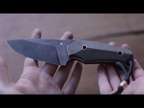 Mangos de construcción para cuchillos - video del cliente de Vulpex - handmade passion