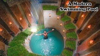 How To Build The Most Modern Underground Swimming Pools with Underground House