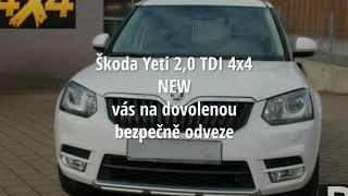 Škoda Yeti 2,0 TDI 4x4 NEW
