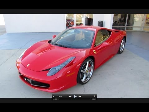 2010 Ferrari 458 Italia Start Up, Exhaust, and In Depth Tour