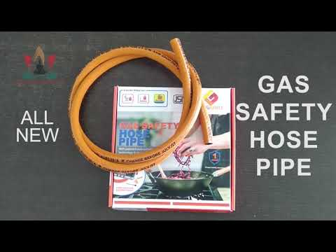 SMT Gas Safety Hose Pipe With Auto-Cut Off  Gas