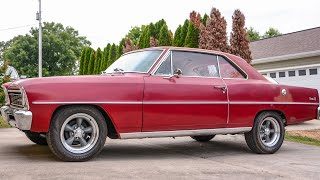1966 Chevrolet Nova Project Car Introduction