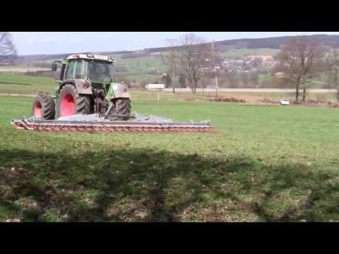 Agrimat EB 300 Nachsaatgerät Wiesenstriegel Grünlandstriegel Striege