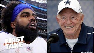 Cowboys will 'blink first' and pay Ezekiel Elliott - Max Kellerman   First Take