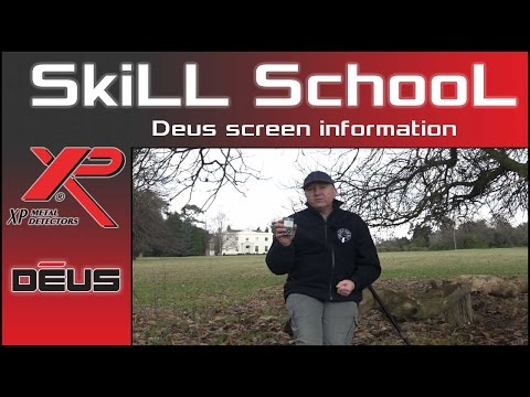 XP DEUS Screen Information For New Users