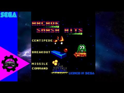 Arcade Shenanigans   Arcade Smash Hits   Retro Sega Arcade Gameplay (SMS)