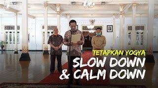 Alih-alih Lockdown, Sultan HB X Tetapkan Yogya Slow Down dan Calm Down