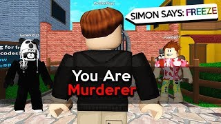 YOUTUBER RAGES in SIMON SAYS! - ROBLOX MM2