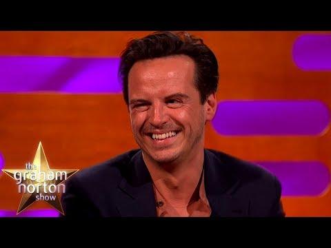 Andrew Scott o řízení a seriálu Potvora - The Graham Norton Show