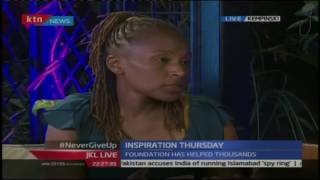 JKL: Inspirational Thursday; Kanja Wangu explains her car jack and rape ordeal, /11/16 part 2