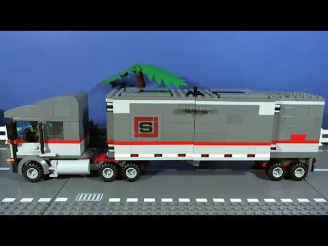 Vidéo LEGO Tortues Ninja 79116 : L'évasion en camion