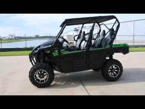 2017 Kawasaki Teryx4 in La Marque, Texas - Video 1