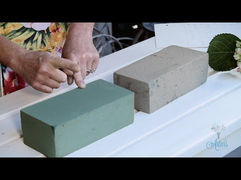 How to Use Oasis Floral Foam