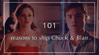 101 Reasons To Ship Chuck And Blair