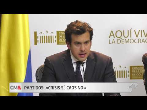 'Crisis si, caos no': senadores reaccionan ante renuncia del fiscal
