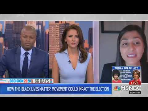 MSNBC Hosts SHOCKED By Reality Check That Young People Are Not Excited To Vote For Joe Biden