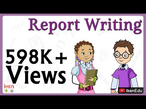 English Lesson: Learn Report Writing