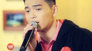 "Daryl Ong sings ""Stay"" (On The Wings of Love OST) on Wish 107.5 TV"
