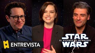 STAR WARS: EL ASCENSO DE SKYWALKER | Entrevista a J.J. Abrams, Daisy Ridley y Oscar Isaac