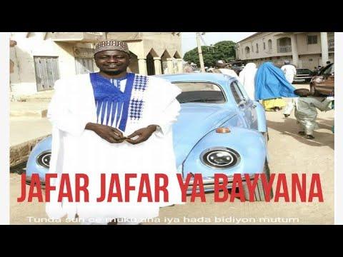 Bayyanar jafar jafar a studio yana bada Sako