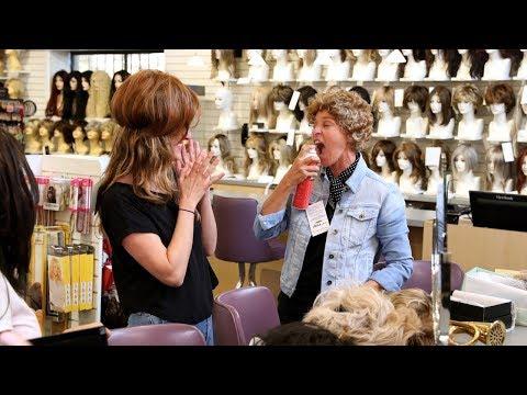 Ellen & Her Writer Lauren Go Wig Shopping