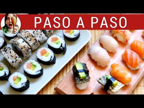 Cómo Preparar Sushi Casero Paso a Paso